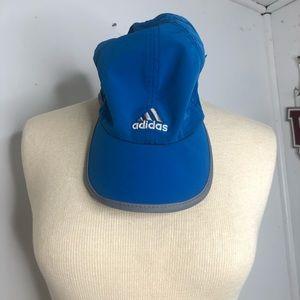 Blue adidas hat